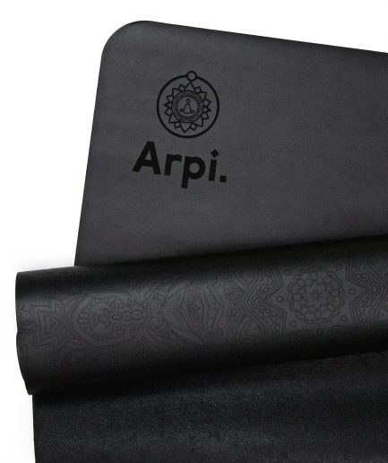 The Essential Arpi Yoga Mat - Black Angel