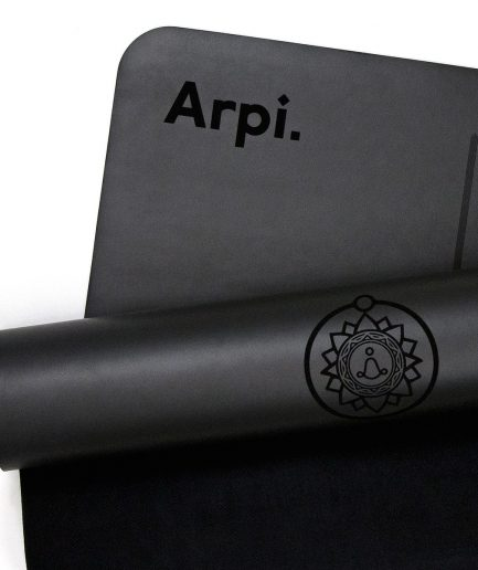 The Essential Arpi Yoga Mat - Black