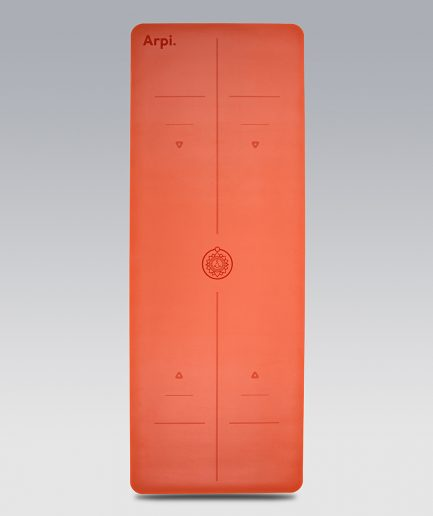 The Essential Arpi Yoga Mat - Orange