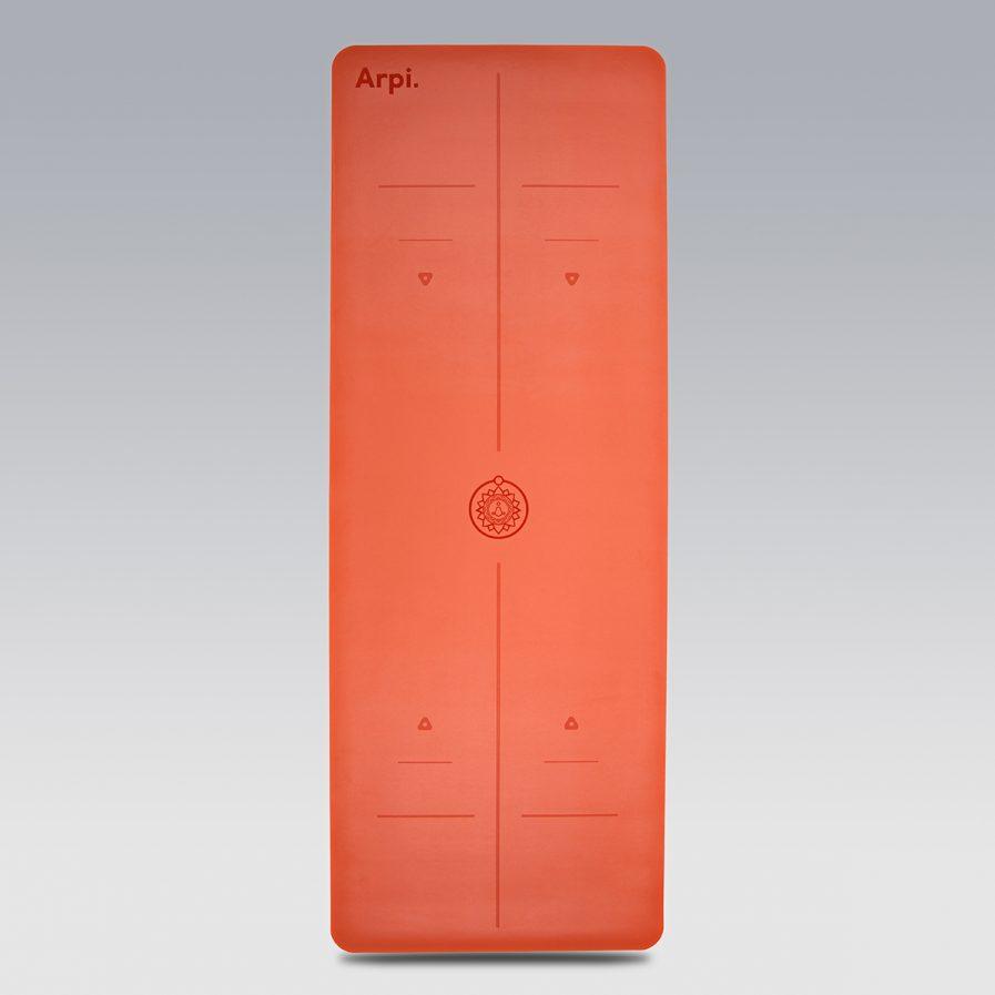 The Essential Arpi Yoga Mat - Orange
