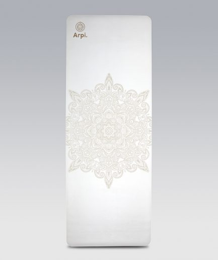 The Essential Arpi Yoga Mat - White Angel