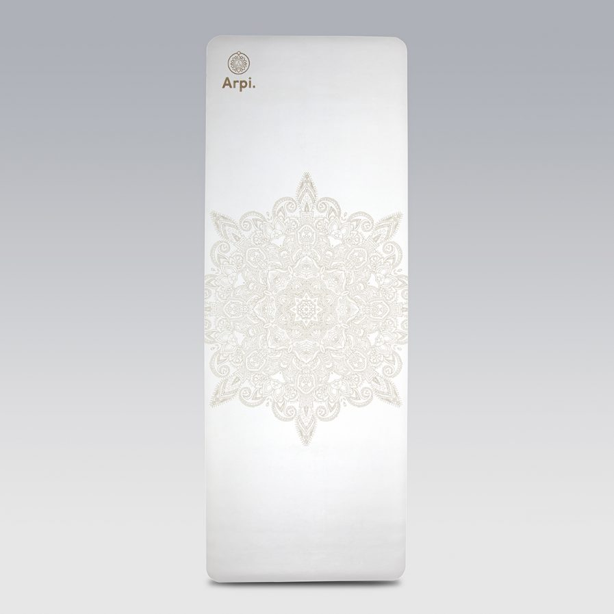 The Essential Arpi Yoga Mat - White Angel