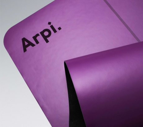 Arpi Yoga Mat - Purple Banner 2